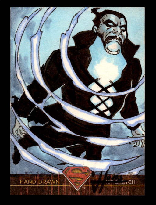 Superman: The Legend 2013 Cryptozoic DC Comics Sketch Card Jefferson Hojas   - TvMovieCards.com