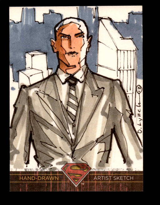 Superman: The Legend 2013 Cryptozoic DC Comics Sketch Card by Dave Lynch   - TvMovieCards.com