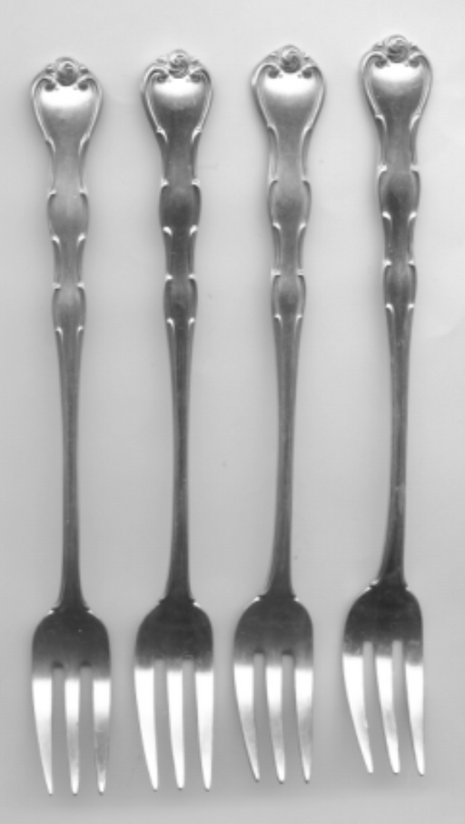4 Rondo Cocktail Fork by Gorham Sterling Silver 5-5/8 Inch   - TvMovieCards.com