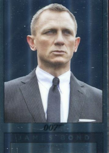 James Bond Archives Spectre Double Sided Mirror Chase Card M23   - TvMovieCards.com