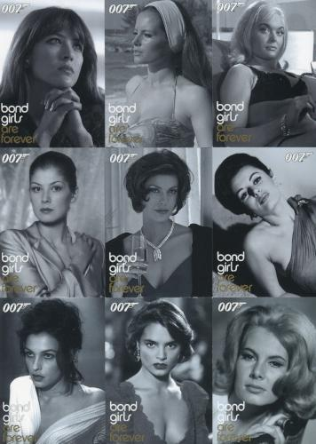 James Bond The Quotable James Bond Girls Are Forever Chase Card Set BG21-BG29   - TvMovieCards.com