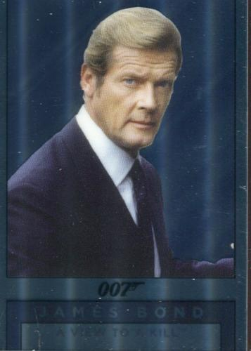 James Bond Archives Spectre Double Sided Mirror Chase Card M14   - TvMovieCards.com