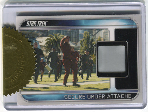 Star Trek The Movie 2009 RC1 Secure Order Attache 3-Case Relic Incentive Card   - TvMovieCards.com