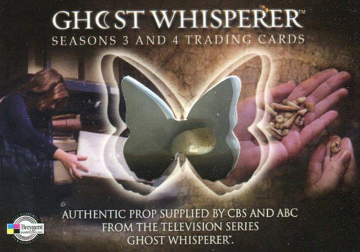 Ghost Whisperer Seasons 3 & 4 Case Topper Tooth Prop Card CT   - TvMovieCards.com