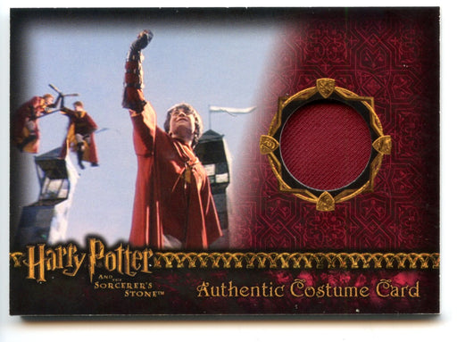 Harry Potter and the Sorcerer's Stone Harry Potter's Quidditch Robe Costume Card 152/410   - TvMovieCards.com