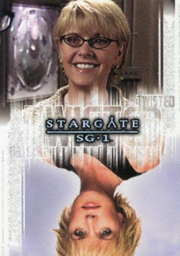 Stargate SG-1 Season Eight Twisted Samantha Carter Rewards Chase Card T10   - TvMovieCards.com