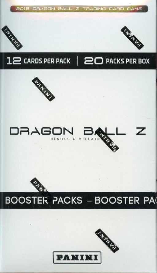 Dragon Ball Z Heroes & Villains TCG Game Booster Card Box 20ct   - TvMovieCards.com