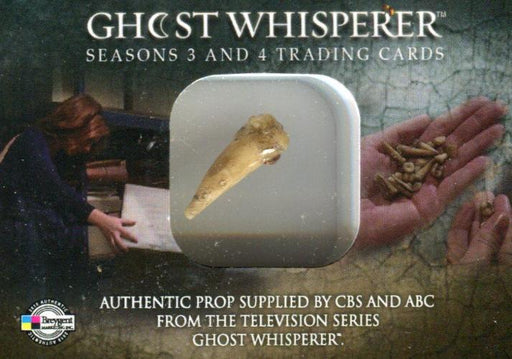 Ghost Whisperer Seasons 3 & 4 San Diego Comic Con Tooth Prop Card   - TvMovieCards.com