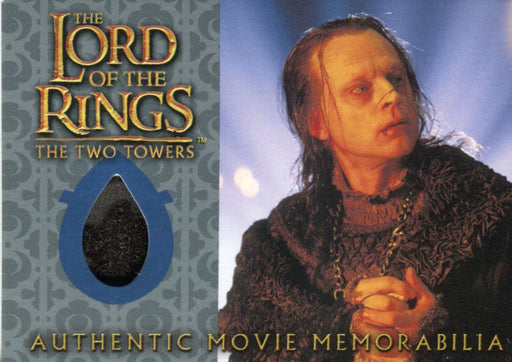 Lord of the Rings Two Towers Update Wormtongue's Velvet Underfrock Costume Card   - TvMovieCards.com