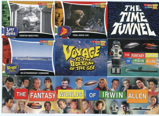 Fantasy Worlds of Irwin Allen Base Card Set 100 Cards   - TvMovieCards.com