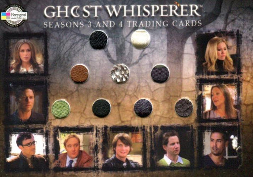 Ghost Whisperer Seasons 3 & 4 San Diego Comic Con Cast Costume Card 9 pc   - TvMovieCards.com