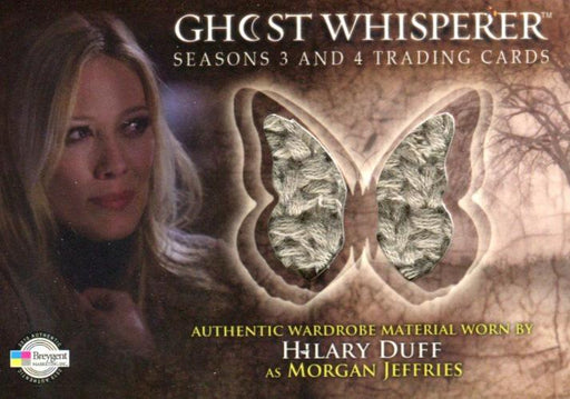 Ghost Whisperer Seasons 3 & 4 Hilary Duff as Morgan Jeffries Costume Card C11   - TvMovieCards.com