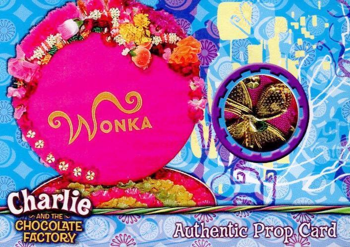 Charlie & Chocolate Factory Wonka Box of Chocolates Prop Card #255/390 Front