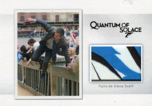 James Bond Archives Final Edition 2017 Relic Costume Card MR7 #148/200   - TvMovieCards.com
