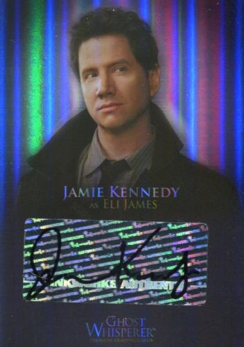 Ghost Whisperer Seasons 1 & 2 Jamie Kennedy as Eli James Autograph Card GA-5   - TvMovieCards.com