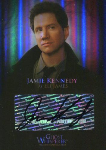 Ghost Whisperer Seasons 1 & 2 Jamie Kennedy Eli James Comic Con Autograph Card   - TvMovieCards.com