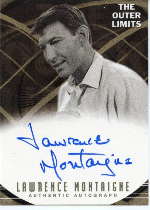 Outer Limits Premiere Autograph Card A6  Lawrence Montaigne as The Engineer   - TvMovieCards.com