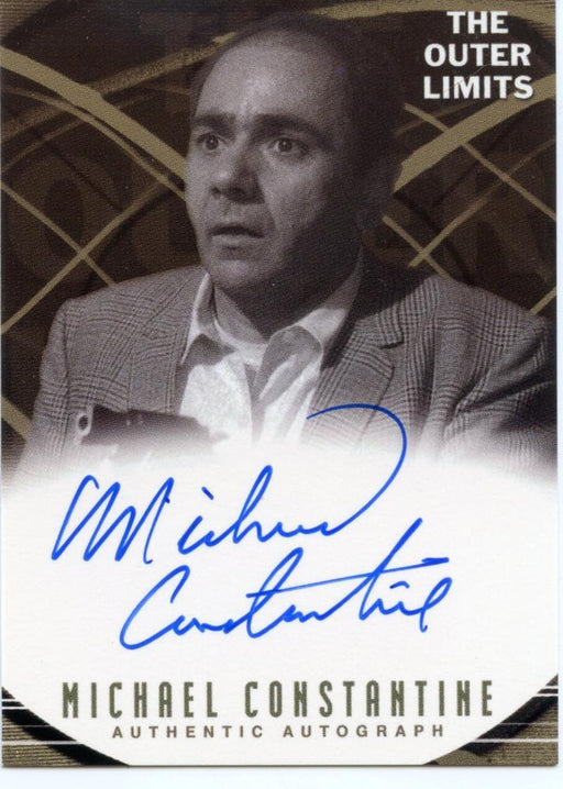 Outer Limits Premiere Autograph Card A7 Michael Constantine as Joe Dix   - TvMovieCards.com