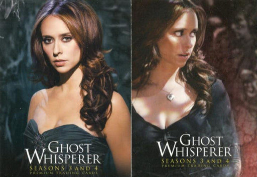 Ghost Whisperer Seasons 3 & 4 Promo Card Lot PROMO 1 and PROMO 2   - TvMovieCards.com