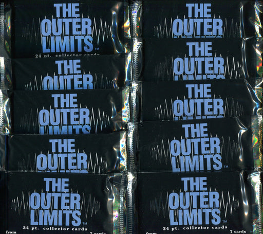Outer Limits Duocards Card Pack Lot 10 Sealed Packs 1997   - TvMovieCards.com