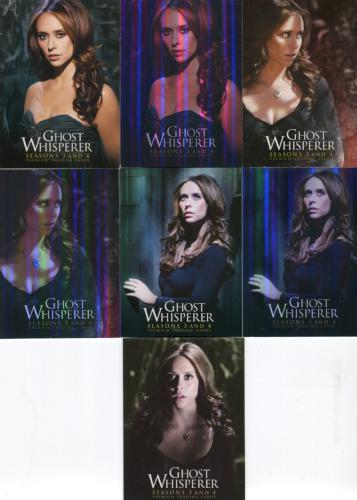 Ghost Whisperer Seasons 3 & 4 Promo Card Lot with 3 Foil Variants 7 Cards   - TvMovieCards.com