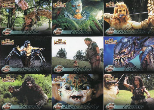 Hercules The Complete Journeys Mythical Beasts Chase Card Set 9 Cards M1 -M9   - TvMovieCards.com
