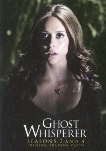 Ghost Whisperer Seasons 3 & 4 Philly Non Sports Card Show Promo Card   - TvMovieCards.com