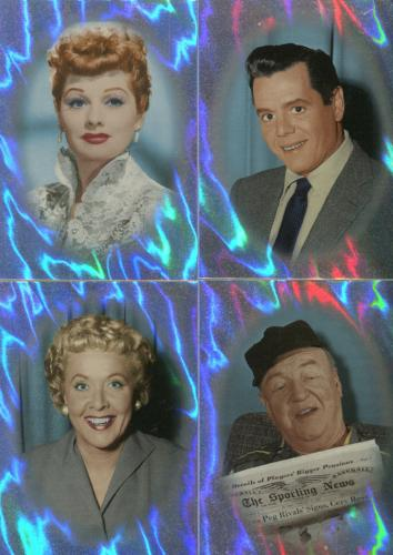 Lucy I Love Lucy 50th Anniversary Ricardos Mertzes Chase Card Set C-1 thru C-4   - TvMovieCards.com