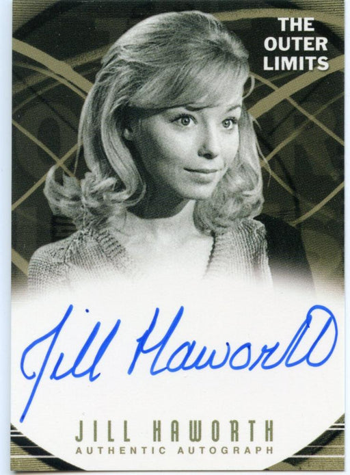 Outer Limits Premiere Autograph Card A15 Jill Haworth as Cathy Evans   - TvMovieCards.com