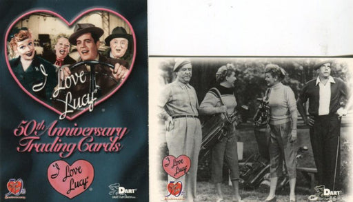 Lucy I Love Lucy 50th Anniversary Promo Card Set 2 Cards P-1 and C-C   - TvMovieCards.com