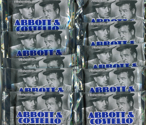 Abbott & Costello Card Pack Lot 10 Sealed Packs Duocards 1996   - TvMovieCards.com