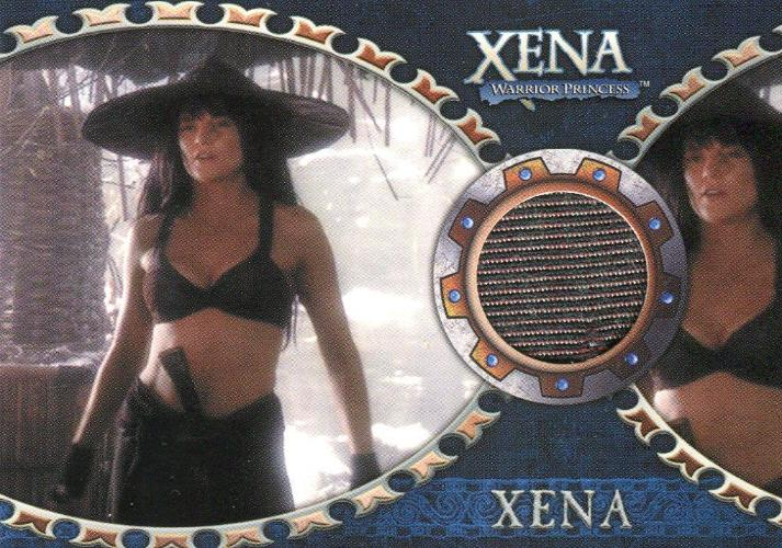 Xena Dangerous Liaisons Lucy Lawless as Xena Costume Card C6 Front1