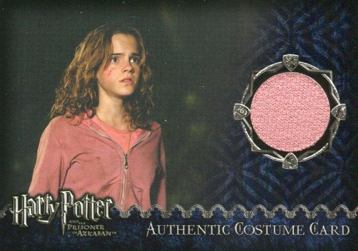 Harry Potter Prisoner Azkaban Hermione's Pink Sweater Costume Card HP #311/450 Front