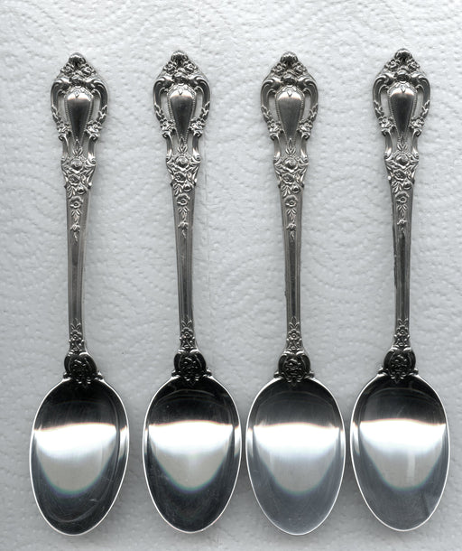 4 Eloquence Oval Soup Spoons 6-5/8 Inch by Lunt Sterling Silver   - TvMovieCards.com