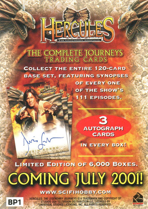 Hercules The Complete Legendary Journeys Card Album   - TvMovieCards.com