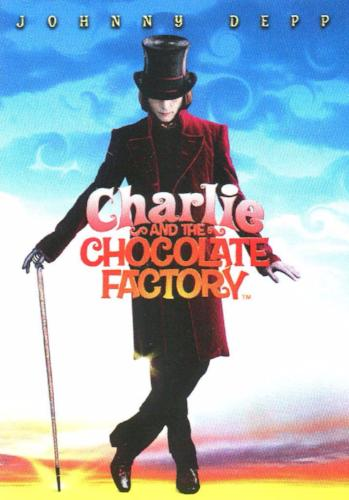 Charlie & Chocolate Factory Johnny Depp as Willy Wonka Bonus Chase Card T1 Front