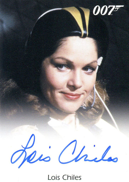 James Bond 50th Anniversary Series One Lois Chiles Autograph Card   - TvMovieCards.com