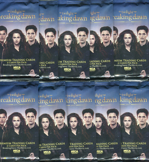 The Twilight Saga: Breaking Dawn Part 2 Movie Card Pack Lot 10 Sealed Packs   - TvMovieCards.com