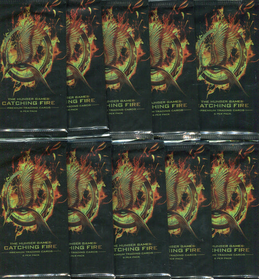 Hunger Games Catching Fire Movie Card Pack Lot 10 Sealed Packs   - TvMovieCards.com