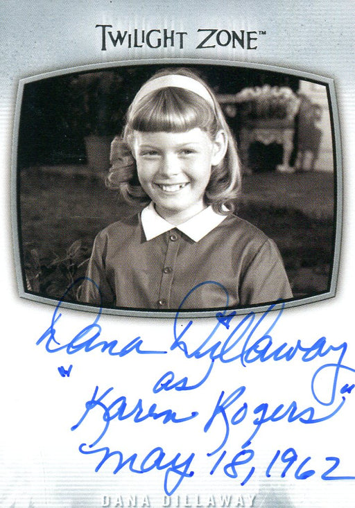 Twilight Zone Archives 2020 Dana Dillaway as Karen Rogers Autograph Card AI-14   - TvMovieCards.com