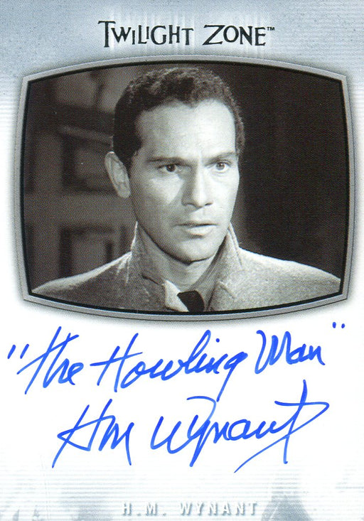 Twilight Zone Archives 2020 H.M. Wynant The Howling Man Autograph Card AI-17   - TvMovieCards.com