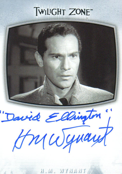 Twilight Zone Archives 2020 H.M. Wynant as David Ellington Autograph Card AI-17   - TvMovieCards.com
