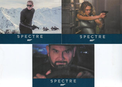 James Bond Archives Spectre Promo Card Set P1 P2 P3   - TvMovieCards.com