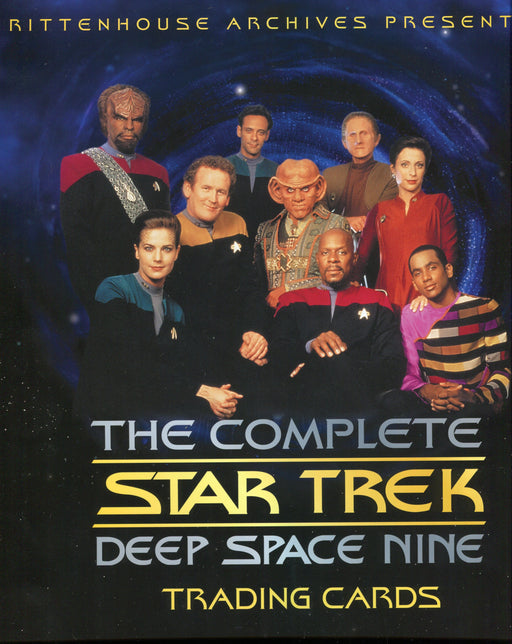 Star Trek Deep Space Nine DS9 Complete Card Album   - TvMovieCards.com