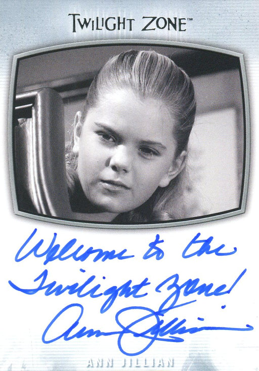 Twilight Zone Archives 2020 Ann Jillian Welcome to the TZ! Autograph Card AI-19   - TvMovieCards.com