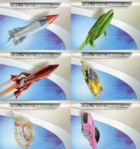 Thunderbirds Are Go! Movie Preview Card Set 6 Cards   - TvMovieCards.com