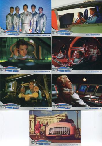 Thunderbirds Are Go! Movie Promo Card Lot 7 Cards   - TvMovieCards.com