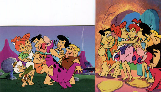 Flintstones Return Promo Card Set P1 and P2   - TvMovieCards.com