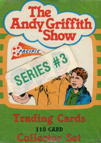 Andy Griffith Show Series 3 Factory Card Set 110 Cards   - TvMovieCards.com