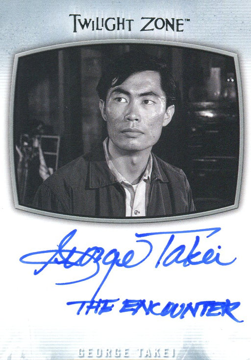Twilight Zone Archives 2020 George Takei The Encounter Autograph Card AI-21   - TvMovieCards.com